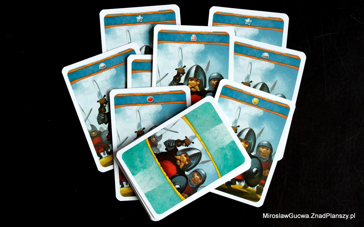 Karty do gry w trybie dla jednego gracza